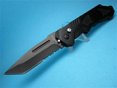 Tactical Stinger EDC Switchblade Knife 904BK