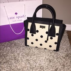 """GONE SATURDAYKate Spade Elsie Street Satchel ❣NWT❣ Kate Spade """"Elsie Street Fabric"""" Satchel ⭐️Features:⭐️ ❣Kate Spade fabric and saffiano leather handbag with crossbody option and gold toned hardware ❣Flap with magnetic snap closure; Top handle with a drop of approx. 3 inches ❣Adjustable, removable strap with a maximum drop of approx. 22.5 inches ❣Interior features custom fabric lining with 1 zip pocket and 2 slip pockets  Any questions please feel free to askFIRM AT THIS PRICENO TRADES kate…"""