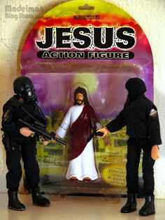MADELMAN BLOG SHOW: JESUS, Action Figure (Accoutrements, 2001)