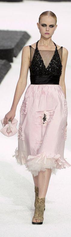 Karl Lagerfeld For Chanel Spring/Summer 2011