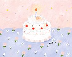 cake and girl - 12 cake Illustration wallpaper ideas Cake Illustration, Fashion Illustration Sketches, Food Illustrations, Digital Illustration, Birthday Greetings, Happy Birthday, Graphic Wallpaper, Doodle Drawings, Cute Wallpapers