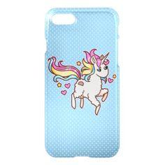 #The Majestic Llamacorn iPhone 7 Case - #funny #unicorn #unicorns #horse #horses #magical #colourful #fantasy