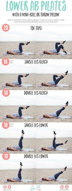 Mini Ball Lower Ab Pilates