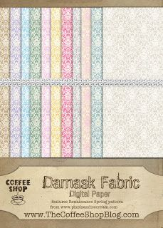 "Free Digital Scrapbook Paper Pack: ""Damask Fabric"" by The Coffee Shop Blog ✿ Join 6,800 others. Follow the Free Digital Scrapbook board for daily freebies. Visit GrannyEnchanted.Com for thousands of digital scrapbook freebies. ✿ ""Free Digital Scrapbook Board"" URL: https://www.pinterest.com/grannyenchanted/free-digital-scrapbook/"