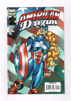 AMERICAN DREAM Cool 5-part Modern Age series from Marvel! NM http://r.ebay.com/HIZU2U