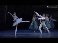 Vision Scene from The Sleeping Beauty - Royal Ballet - Lauren Cuthbertson as Aurora, Sergei Polunin as Florimund, and Claire Calvert as the Lilac Fairy