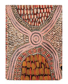 Kluge Lot number: 6  Mick Namarari Tjapaltjarri  A Dingo Icongraph, 1974 *  synthetic polymer paint on board  57 x 43 cm [6600]