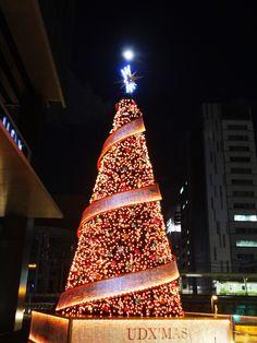 winter light at UDX bild.in Akihabara-Tokyo