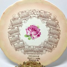 Just listed on BellaRosaAntiques.com Antique Rose Calendar Plate-Calendar Plate Lancaster County  sc 1 st  Pinterest & Antique WAHL Gold Ink DESK Office Pen TEMPOINT Pen 3 Nib Fountain ...