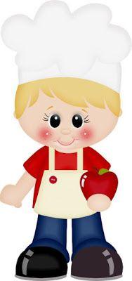 Dibujos A Color Cocineros A Color Listo Para Imprimir Moldes De Ninos Ninos Chef Manualidades