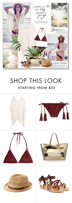 """""""Summer in the air!!"""" by lilly-2711 ❤ liked on Polyvore featuring Eberjey, ále by Alessandra, River Island, SONOMA Goods for Life and K. Jacques"""