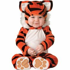 Our wild infant tiger costume is a cute Halloween costume idea for babies and toddlers. Get this wild infant tiger costume as a fun zoo animal costume for kids. Baby Tiger Costume, Baby Animal Costumes, Safari Costume, Cute Baby Halloween Costumes, Baby Costumes For Boys, Toddler Costumes, First Halloween, Boy Costumes, Halloween Kids