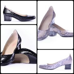 #crocodileshoes #blackshoes #womenshoes #elegantshoes #maricomshoes #bucharest #crocodileskinshoes  www.maricomshoes.com