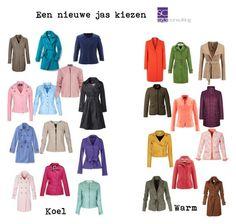 """""""Een nieuwe jas kiezen. Warm of koel."""" By Margriet Roorda-Faber."""