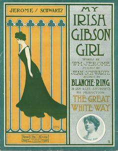 My Irish Gibson Girl