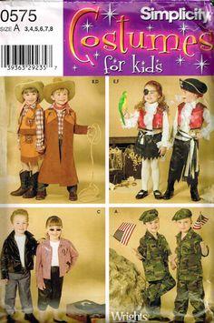 Cowboy Pirates GI Joe Army 50s Rocker Childrens by PeoplePackages