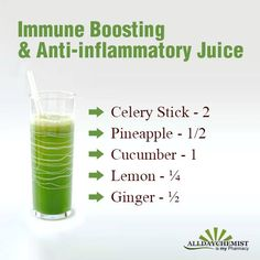 #Remedy #Juice #Recipe Immune system boosting & anti-inflammatory juice.