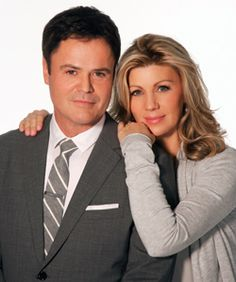 Donny and Debbie Osmond Two soulmates  both belong together Susan Ansley here in New Zealand