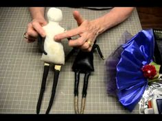 Cloth Clay Doll using Gritty Jane tutorial from clothclay.ning