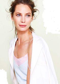 Christy Turlington by Patrick Demarchelier for Vogue UK