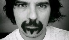 Batman goatee.