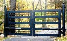 WI-WR-013 Putnam Valley, NY Metal Driveway Gates, Metal Gates, Wooden Gates, Front Gates, Wrought Iron Gates, Entrance Gates, Farm Entrance, Driveway Entrance, Iron Gate Design