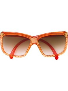 6e7276ebeb9f vintage 80 s women drop arm sunglasses oversize plastic frame ...