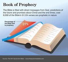 27% van de bijbel is profetisch // 27% of the Bible is prophetic in nature. Book of Prophecy