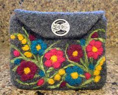 Ravelry: Agilejack's Grey Felted Wool Wallet for Jeri