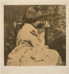 Portrait of Alice Liddell, 1852-1934 (The Alice in Wonderland) Lewis Carroll, English, 1832 - 1898