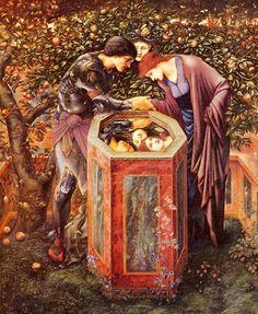 Sir Edward Burne-Jones – The Baleful Head (Perseus & Andromeda - Pre Raphaelite Art