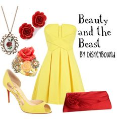 Beauty and the Beast by Disneybound