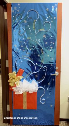 New Christmas Door Decoration  #christmasdoordecor