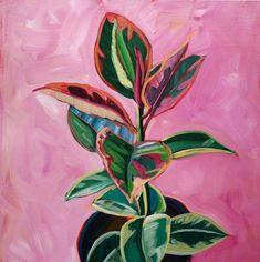 Sari Not Sorry Art from Sari Shryack - gouache painting Plant Painting, Plant Art, Painting & Drawing, Gouache Painting, Acrylic Painting Flowers, Abstract Paintings, Art Paintings, Landscape Paintings, Abstract Art