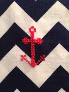 How to Cross Stitch on Any Fabric. Pretty good tutorial on how to get your love for cross stitch on to anything you want. :)