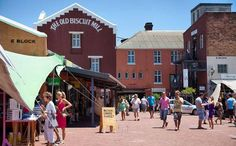 Woodstock is a compact easy-to-navigate pedestrianised complex with a small, good selection of shops.