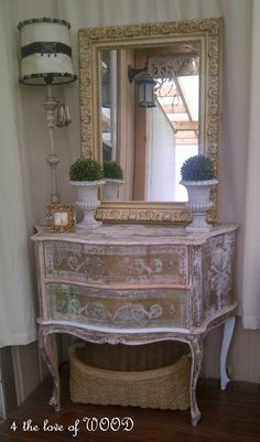 STRIPPING - gold marble cabinet