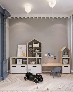 kleinkind zimmer Showcase and discover creative work on the worlds leading online platform for c Kids Room Art, Kids Bedroom, Bedroom Art, Trendy Bedroom, Baby Room Design, Design Design, Logo Design, Playroom Decor, Kid Spaces