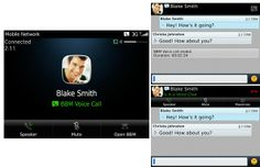 BlackBerry Messenger 7 incorporates VoIP calls