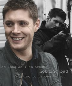 "He's extremely protective | 15 Reasons Dean Winchester From ""Supernatural"" Is The Perfect Man"