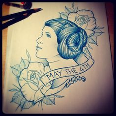 Leia Tattoo