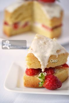 Bake for Happy Kids: Strawberry Country Cake (Barefoot Contessa)