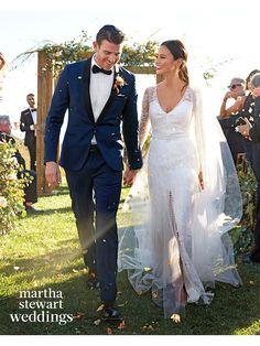 The couple wed on October 31, 2015, at El Capitan Canyon, a rustic resort near Santa Barbara, California