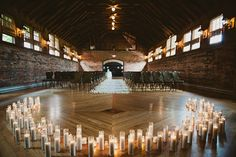 game of thrones wedding...This understated and gorgeous ceremony setup is reminiscent of the Great Hall