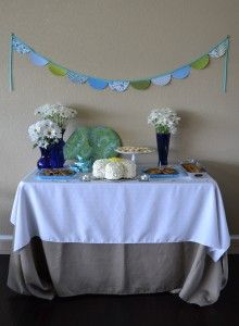party DiY: how to make a paper garland