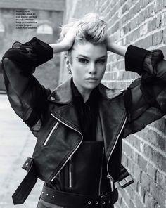"\""Punk\"" | Stella Maxwell por Arthur Elgort para Marie Claire França Setembro 2013  [Editorial]"