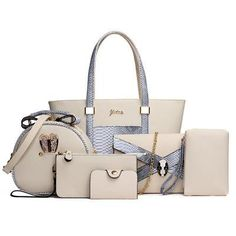 fde5b57824a2 6 Piece Set High Quality Wholesale Bags 60% off