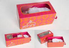 Jenni Slipper Boxes #packaging PD