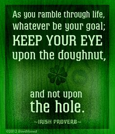 Irish proverb from ilivediloved.com