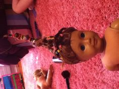 American girl doll hair torture!! LOL By Sophie sanderez and McKenna Rooney
